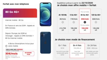 Iphone Forfait Inclus